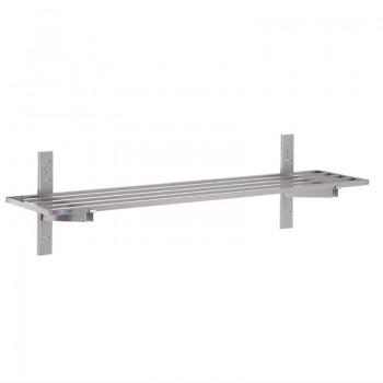 Gastro M Stainless Steel Wall Shelf 20 x 1600 x 400mm