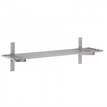 Gastro M Stainless Steel Wall Shelf 20 x 1800 x 400mm