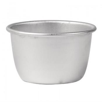Vogue Aluminium Mini Pudding Basin 170ml