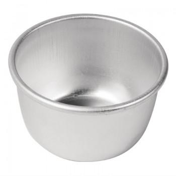 Vogue Aluminium Mini Pudding Basin 105ml