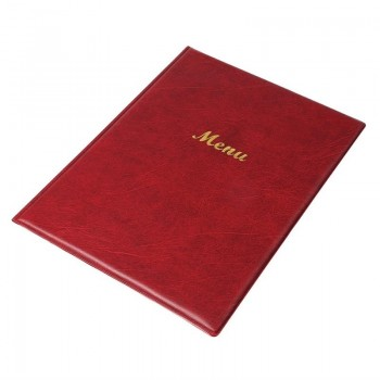Olympia PVC Menu Cover A4 Burgundy