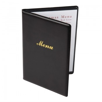 Olympia PVC Menu Cover A5 Black