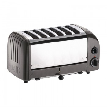 Dualit 6 Slice Vario Toaster Charcoal 60156