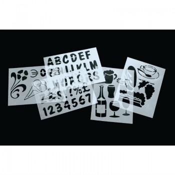 Securit Stencil Set