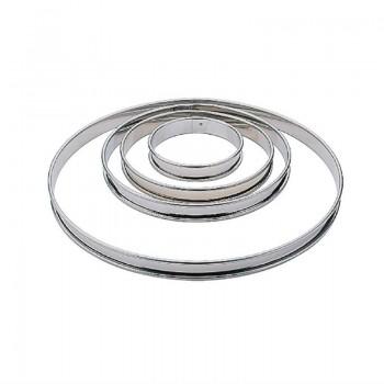Matfer Plain Flan Ring 200mm