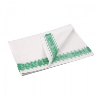 Vogue Glass Cloth Green