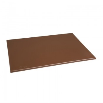 Hygiplas Anti Microbial High Density Brown Chopping Board