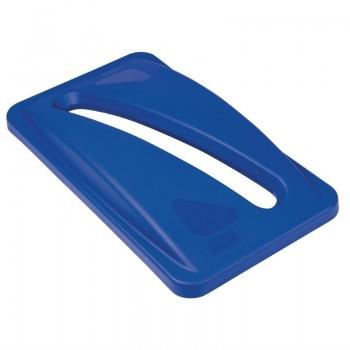 Rubbermaid Blue Paper Lid