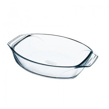 Pyrex Oval Glass Roasting Dish