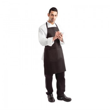 Chef Works Bib Apron Black