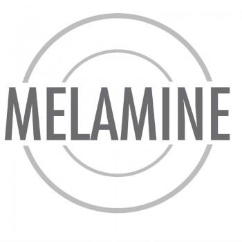 APS Float Melamine Tray Black GN 1/1