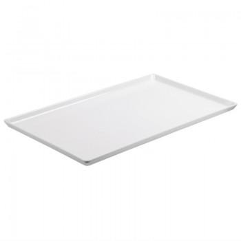 APS Float Melamine Tray White GN 1/2