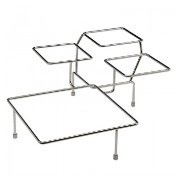 APS Float Chrome 4 Bowl Stand
