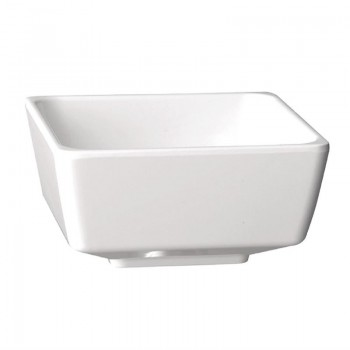 APS Float White Square Bowl 3.5in