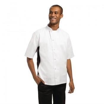 Whites Nevada Black and White Unisex Chefs Jacket Size XS