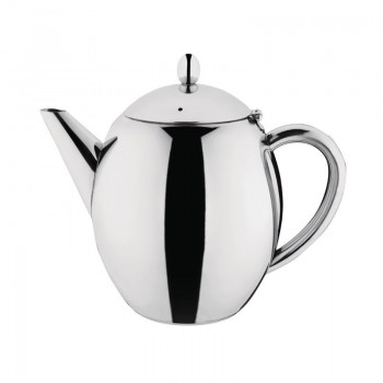 Olympia Richmond Stainless Steel Teapot 1.7Ltr