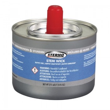 Sterno Stem Wick Liquid Chafing Fuel With Wick 6 Hour x 12