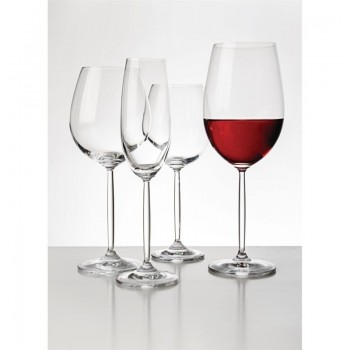 Olympia Modale Crystal Wine Glasses 520ml