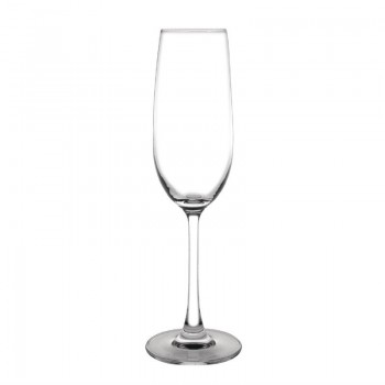 Olympia Modale Crystal Champagne Flutes 215ml