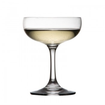 Olympia Bar Collection Crystal Champagne Saucers 200ml