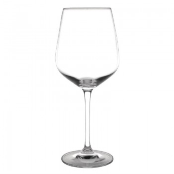 Olympia Chime Crystal Wine Glasses 495ml