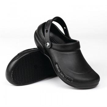 Crocs Black Bistro Clogs 39
