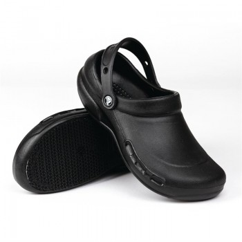 Crocs Black Bistro Clogs 41.5