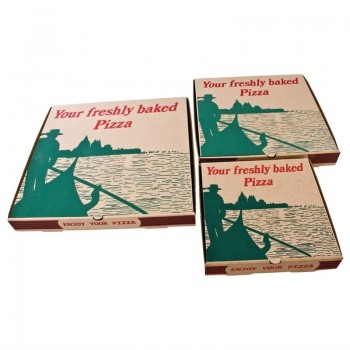 Compostable Printed Pizza Boxes 12''