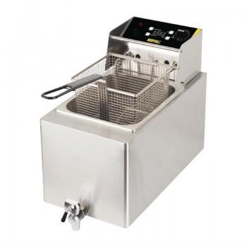 Buffalo Single Tank Single Basket Countertop Electric Fryer 3kW