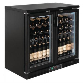 Polar Horizontal Wine Cooler Hinged Doors