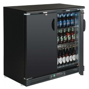 Polar Solid Door Display Cooler 182 Bottles