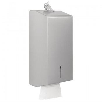 Jantex Stainless Bulk Pack Tissue Dispenser