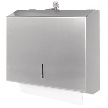 Jantex Stainless Paper Towel Dispenser