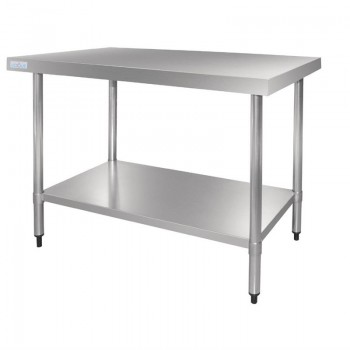 Vogue Stainless Steel Prep Table 900mm