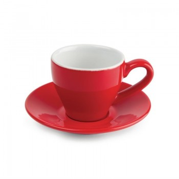 Olympia Cafe Espresso Cups Red 100ml