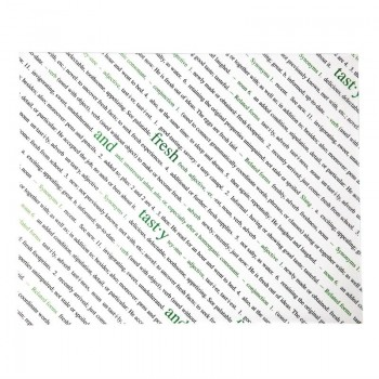 Fresh and Tasty Greaseproof Paper 255 x 203mm