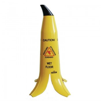 Banana Skin Wet Floor Sign