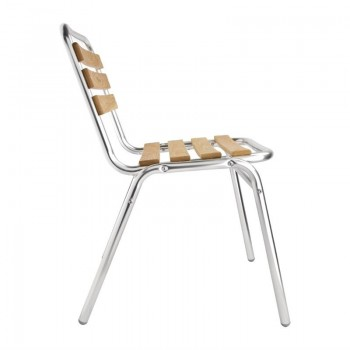Bolero Ash Bistro Side Chair (Pack of 4)