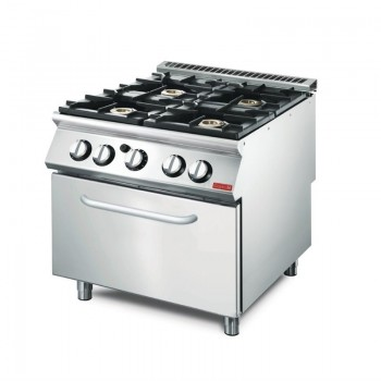 Gas range with gas oven GM70/80 CFGB