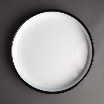 Olympia Enameled Steel Round Service Tray 320mm