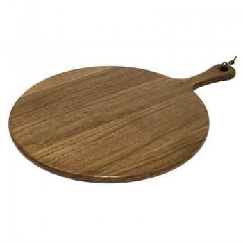 Olympia Acacia Wood Round Wooden Paddle Board 355mm