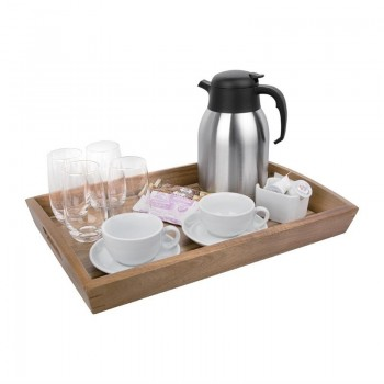Olympia Large Acacia Wood Butler Tray 510mm