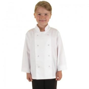 Whites Childrens Unisex Chef Jacket White L