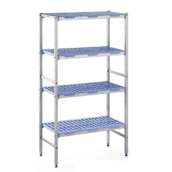 Tournus racking 4 shelves 400(d)x690(w)mm