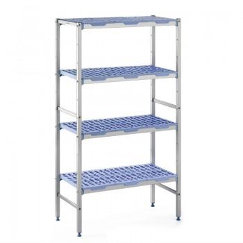 Tournus racking 4 shelves 400(d)x890(w)mm