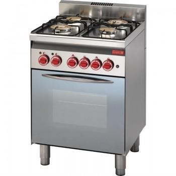 GN002 - Gastro-M 600serie Gas range 60/60CFG