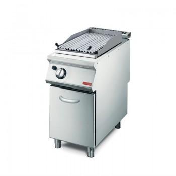 GN003 - Gastro-M Gas Lavastone grill GM70/40GRL