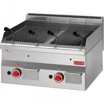 Gastro M 600 Gas Lavastone grill