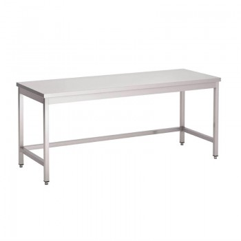 Gastro-M S/S table without undershelf 700x700x850mm