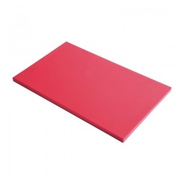 Gastro-M GN1/2 HDPE chopping board - red 15mm